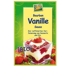 Bourbon Vanillesauce vegan für leckeren Bratapfel mit Sauce