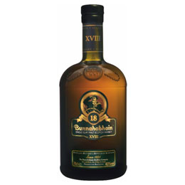 Bunnahabhain Single Malt Whisky 18 yrs.