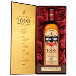 Bushmills 1608 400th Anniversary + GB 0,7 l