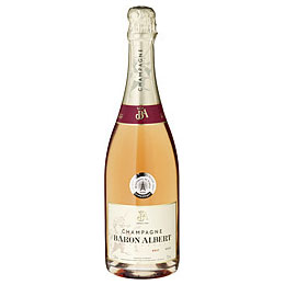 Champagner Baron Albert Rosé