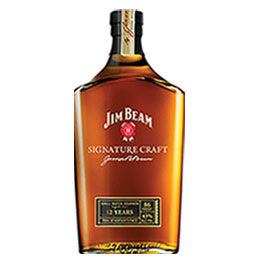 Jim Beam Signature Craft Bourbon Whiskey 1 liter