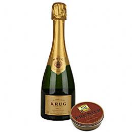 Krug Champagner und Ossietra Kaviar Set (1Set Set)